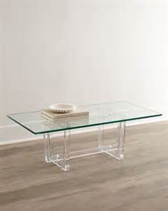 Plexiglass Coffee Table Aldon Acrylic Coffee Table Coffee Tables By Horchow