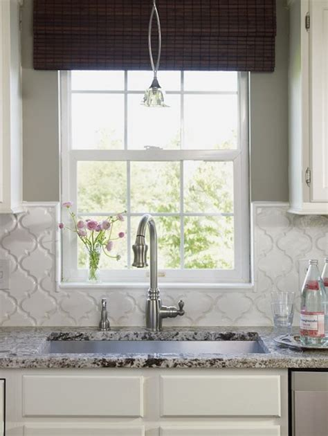 gray kitchen moroccan tile backsplash decor