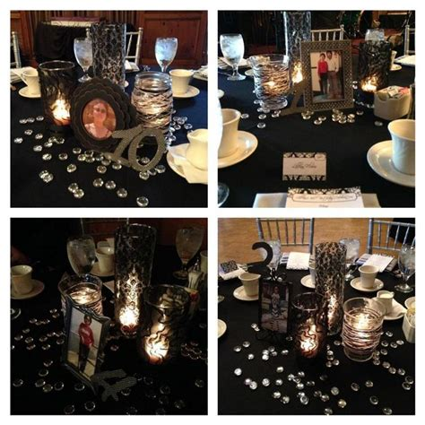 60th Birthday Table Decorations Ideas by 60th Birthday Ideas That S Clever