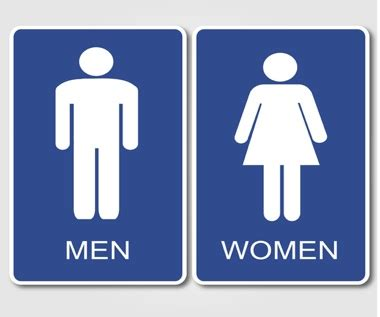 boy girl bathroom sign bathroom sign gurl comgurl com
