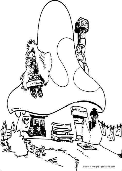 shoe house coloring pages cuidando do planeta com muita divers 195 o smurfs
