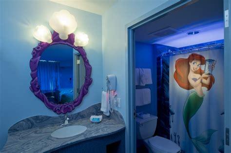 the little mermaid bathroom standard hotel disney every day