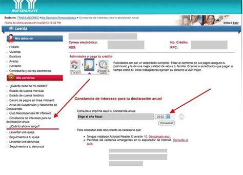 constancia de impuestos del infonavit constancia de impuestos de infonavit 2015