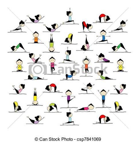 descargar imagenes yoga gratis 25 practicar gente yoga dise 241 o posturas imagen
