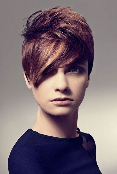 hairstyles color and cut short hair with color