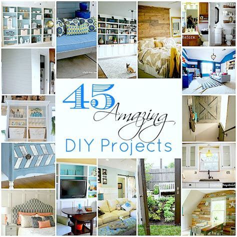 diy house projects 45 amazing diy projects