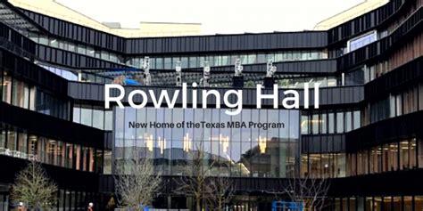 Ut Mba Alumni by Robert B Rowling Grand Opening Mba Insider