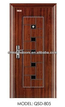 cheap front doors for sale cheap exterior security steel door sigle leaf for sale