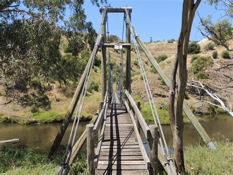 swinging adelaide the onkaparinga swing bridge adelaide