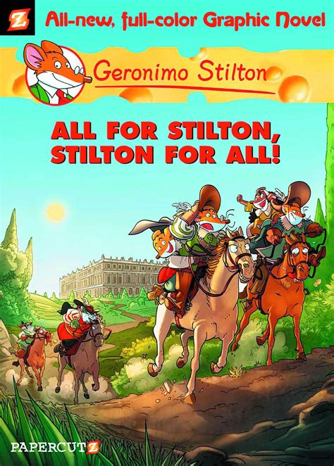 stilton and geronimo stilton fresh comics