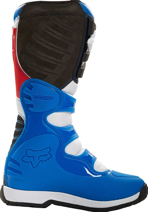 red dirt bike boots fox racing comp 5 fiend se boots mx atv motocross off