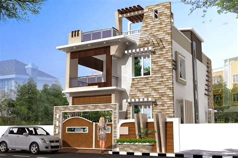 3d house builder luckydesigners 3d elevation residential building
