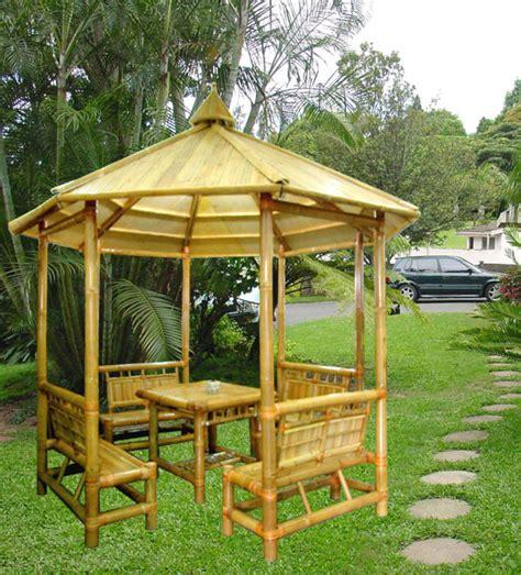 gazebo bamboo bamboo gazebo buy bamboo bamboo house product on alibaba
