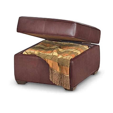 square leather storage ottoman homestyles 174 30 quot square leather storage ottoman burgundy