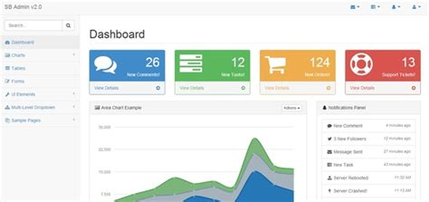 jquery ui layout html5 35 awesome free bootstrap html templates