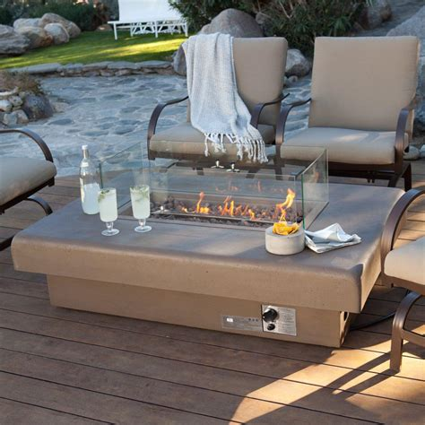patio gas table patio table with gas pit pit design ideas