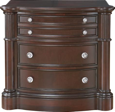 rooms to go nightstands rooms to go dumont cherry nightstand shopstyle