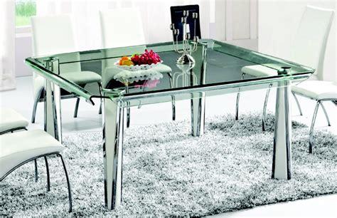 mesa de cristal templado twist cuadrada  en mercado libre