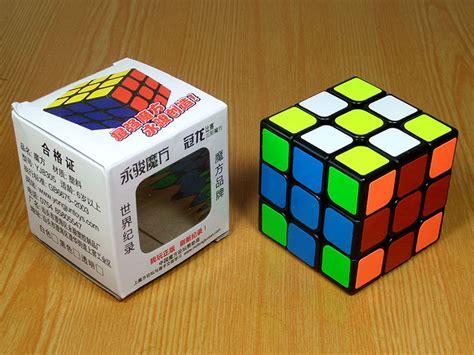 Rubik Magic Cube Yongjun 3x3 Guanlong Stickerless yj moyu guanlong black white puzzle shop cutcorner