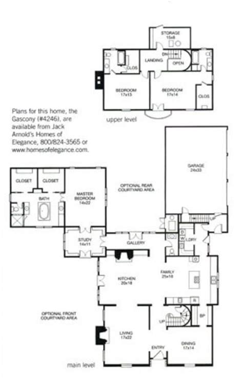 jack arnold floor plans jack arnold gascony plan better homes and gardens home