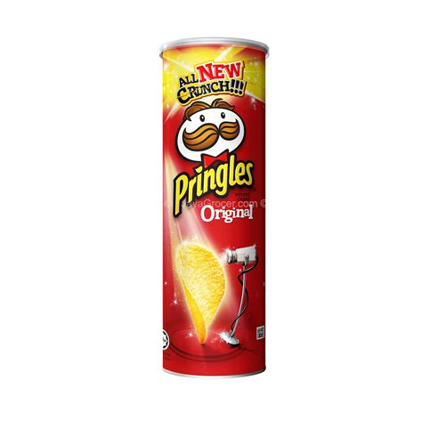 Ruffles Potato Chips 184g jaya grocer pringles original potato crisps fresh