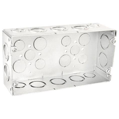 Multi Box 2 1 2 in three multi box with 3 4 in and