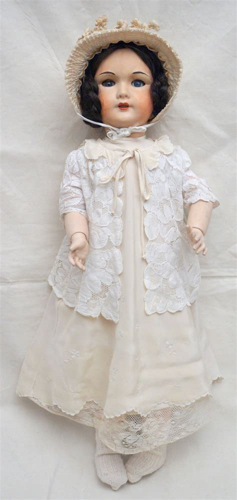 composition walking doll 24 quot compo walking doll sleep 301 size 12