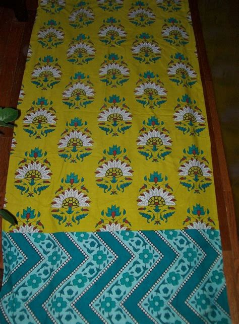 lime green and teal curtains boho chic lime green floral fabric shower curtain with zig