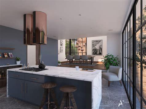 hampstead private house interior design  behance