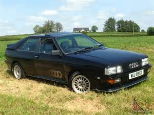 1986 Audi Quattro For Sale 1986 Audi Quattro Coupe Ur Wr Facelift Model 2144cc