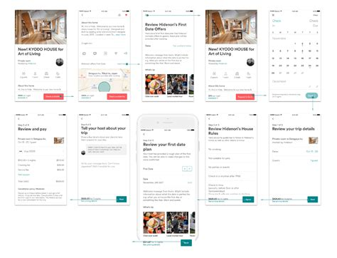 airbnb ux research airbnb first date concept ux collective