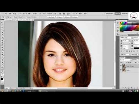 tutorial rambut warna cara mengubah warna rambut tutorial photoshop cs5 youtube