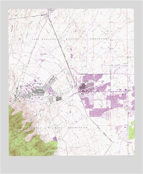 fort huachuca arizona map fort huachuca az topographic map topoquest