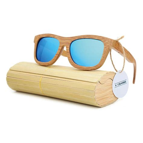 Handmade Wooden Sunglasses - square handmade wooden sunglasses retro vintage