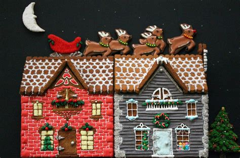 Gingerbread House by Worth Pinning Gingerbread Houses