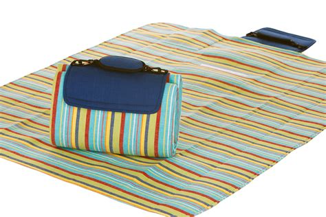 Picnic Mat by Mega Mat Folded Picnic Blanket With Shoulder 68 Quot X