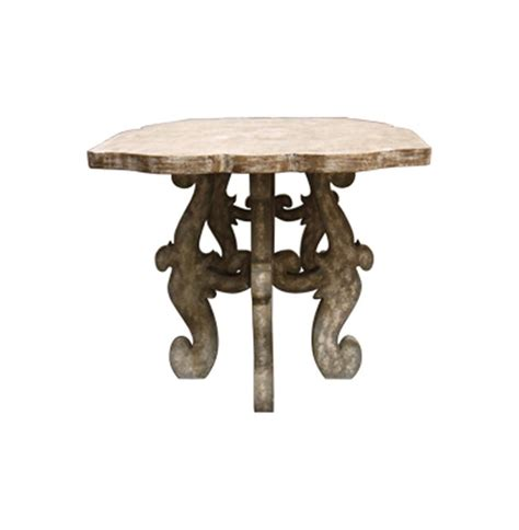 Rustic Country Dining Table Country Rustic Scroll Farmhouse Dining Table Kathy Kuo Home