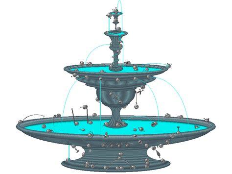 Fountain For Home Decoration by Garden Lovely Fountain Idea