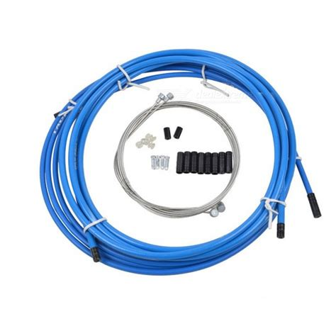 wire mountain housing office mountain bike brake transmission line pipe line core suits blue free shipping