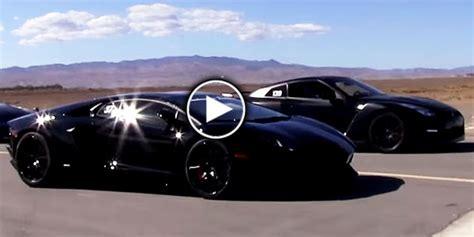 Nissan Gtr Vs Lamborghini Cars Supercars Gallery