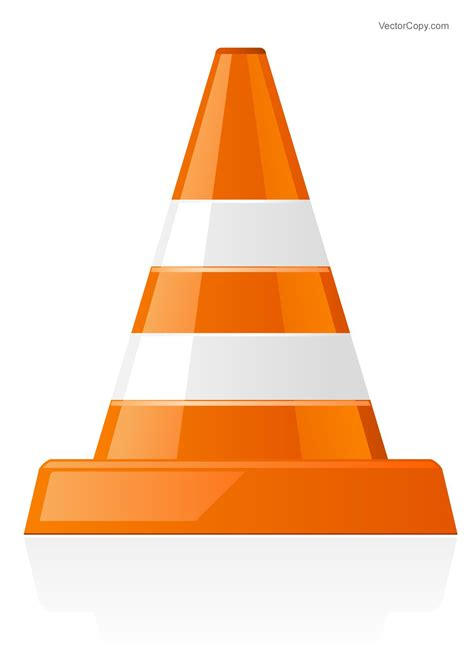 clipart vectors traffic cone icon free vector vector objects vector