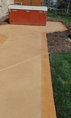 Restain Concrete Patio by 1000 Images About Concrete Hardscaping By Tmcc On