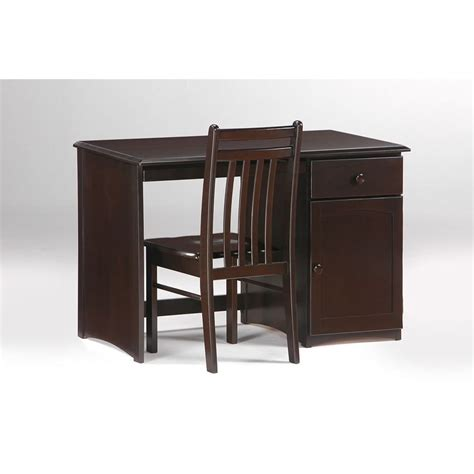 Chocolate Desk by Clove 6 Drawer Dresser Shown In Chocolate Finish