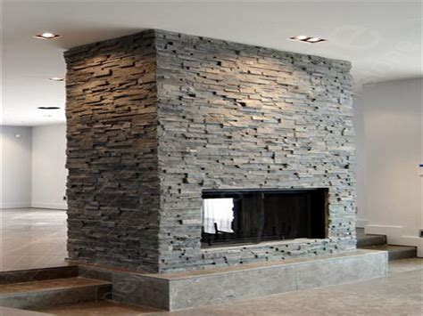 Stacked Stone Fireplace Pictures stacked stone fireplace pictures home interior design