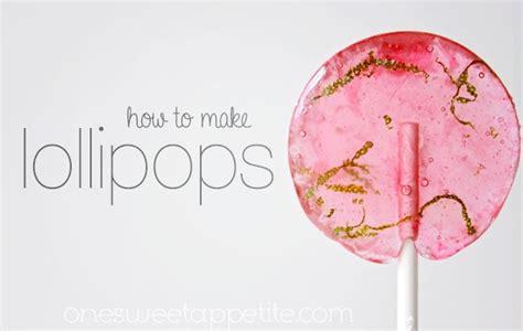 diy suckers how to make lollipops