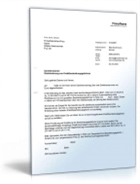 Musterbriefe Kreditgebühren Musterbriefe 196 Mter Beh 246 Rden Vorlagen Zum