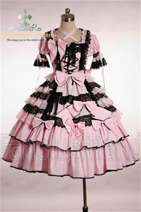 Dress Dress Tile Hitam Pink Black dress pink my style dress pink black and