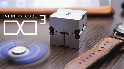 Infinity Cube fidget in style with infinity cube luxury edc fidgeting
