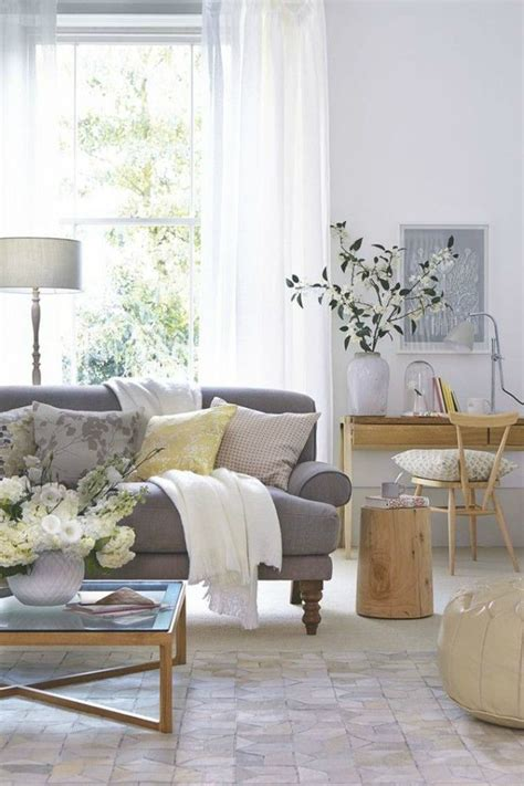 10 Bright Ideas For Your Home Decoholic Living Room With Gray Sofa