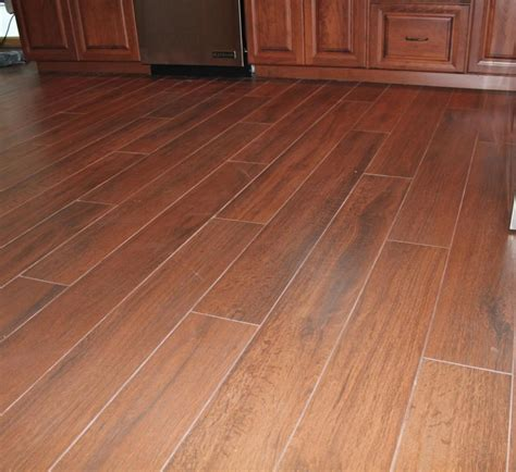 Tile Flooring For Kitchen Tiles With Wood Design Easy Home Decorating Ideas